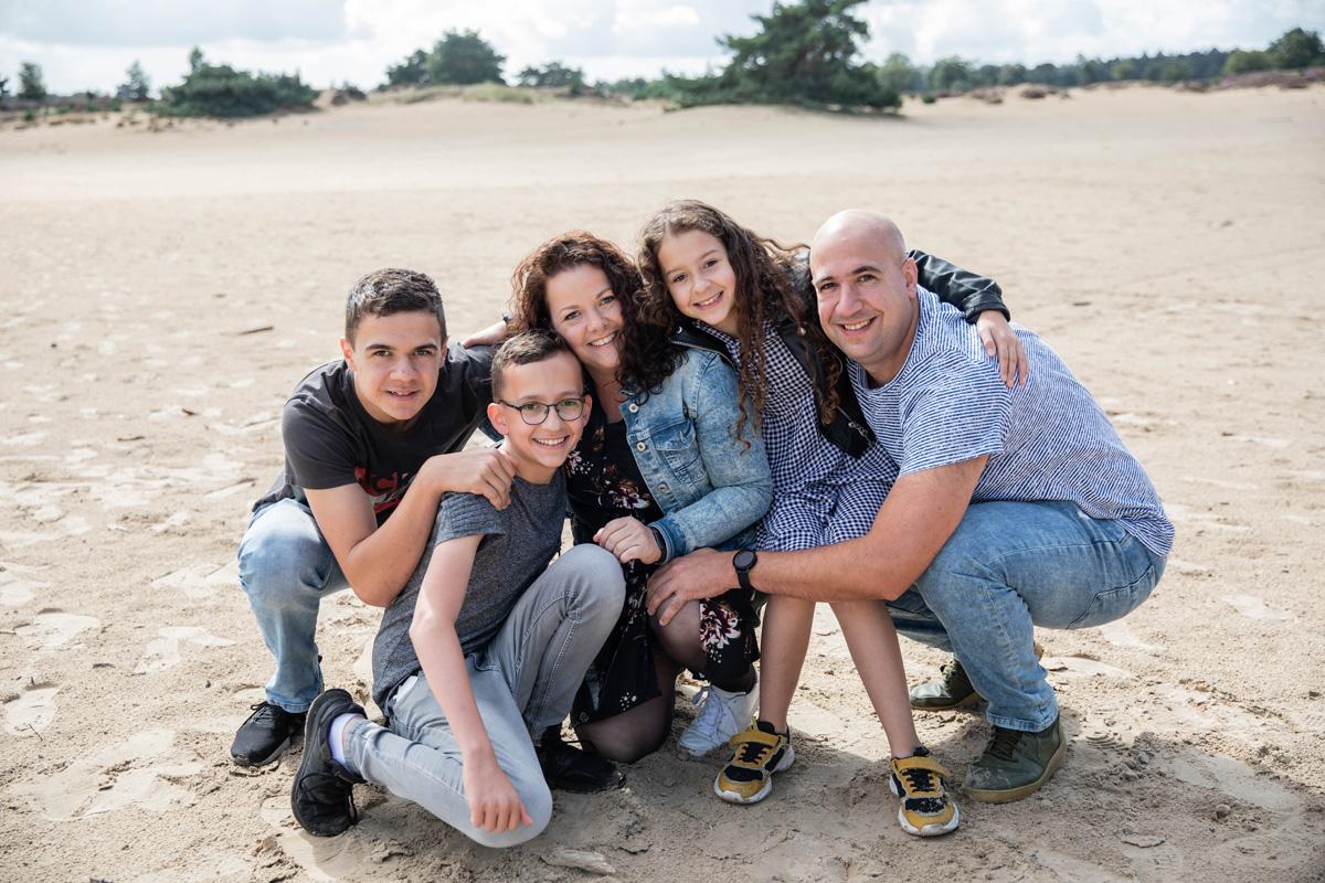 Familie fotoshoot Appelscha